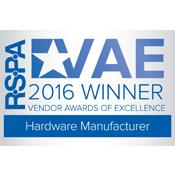 RSPA 2016 Ganador del fabricante de hardware