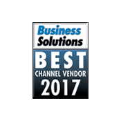 2017 Best Channel Vendor Award