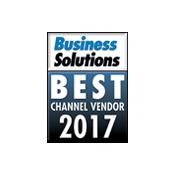 2017 Best Channel Vendor Award