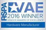 RSPA 2016 Vendor Award