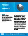 Epson T20 - spec sheet