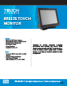 breeze-touch-monitor - spec sheet
