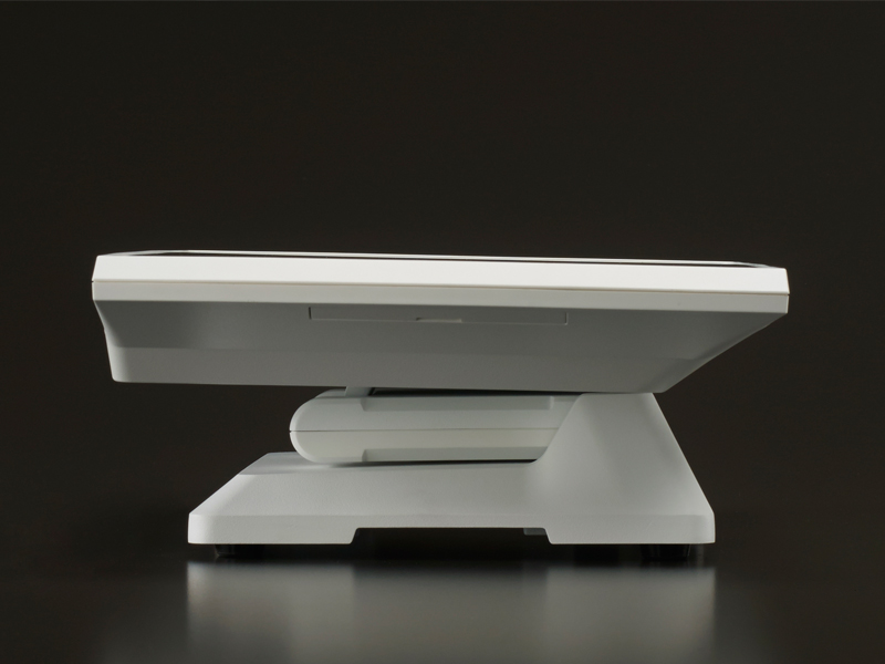 white touchscreen all-in-one
