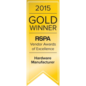 2015 Gold Winner- RSPA Hardware Manufacturer