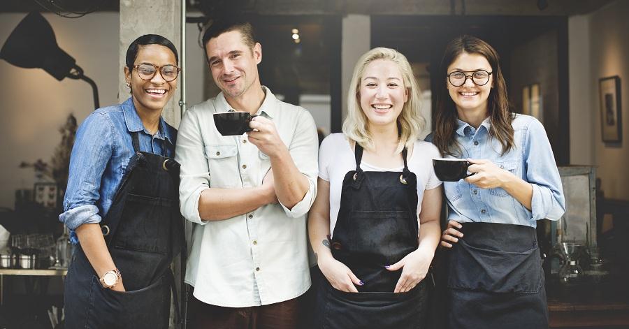 restaurant staff presentation