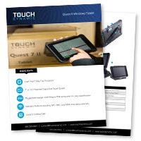 Quest II Windows Tablet Spec Sheet