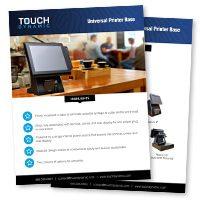 Universal Printer Base Spec Sheet